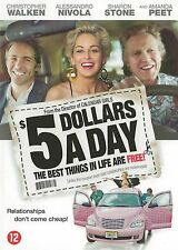 5 Dollars A Day    -  New dvd in seal ,   Christopher Walken, Sharon Stone