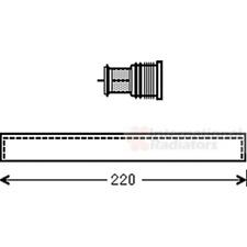 Trockner Klimaanlage innen - van Wezel 5800D294