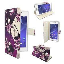 Étuis, housses et coques avec clip multicolores Pour Sony Xperia M2 pour téléphone mobile et assistant personnel (PDA)