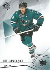 San Jose Sharks - 2015-16 SP Authentic - Complete Base Set Team (3)