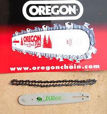 """HUSQVARNA 136 141 15"""" Bar & Cadena hecha por Barra de Oregon & jakmax Pro 64 X.325 050"""""""