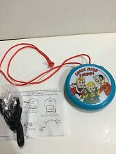 ICON KELLOGGS VINTAGE SNAP-CRAKLE-POP POCKET RADIO FM- BAND FROM THE 1970s-1990s