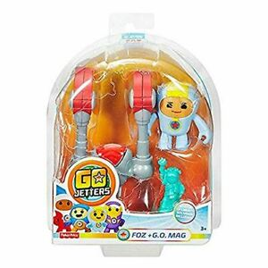 Fisher-Price Go Jetters Click-On Foz + G.O. Mag Action Figure Toy