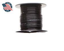 100ft MilSpec high temperature wire cable 18 Gauge BLACK Tefzel M22759/16-18-0