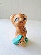 Vintage Pendelfin Totty Rabbit Bunny Figure Made In England ~ Nice! N1