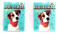 DOG Puppy Animal PLAYING CARDS - 2 New Game Toy Decks