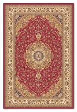 HIGH QUALITY DARK RED Traditional Persian Style 100% Wool Rug Runner 60x120cm