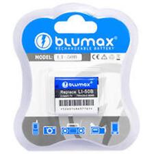 Original Blumax Kamera  Akku 780mAh LI-50B für Olympus VR-360 XZ-1 U1010 U1030SW