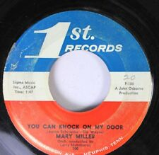 Hear! Teen Rare Memphis 45 Mary Miller - You Can Knock On My Door / Back To You