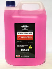 STRAWBERRY CAR AIR FRESHENER LIQUID CAR VALETING 5 Litre VW BMW MERC SEAT FORD
