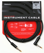 PLANET WAVES PW-AMSGRA-10  AMERICAN STAGE 10' INSTRUMENT CABLE, RIGHT ANGLE