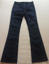 "Men's G-Star RAW 3301 Bootleg Blue Jeans (Stretch Fit) Waist 26"" / Leg 34"" BNWOT"