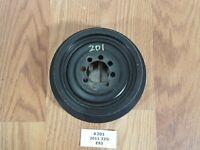 ✅ OEM BMW E90 E82 Crankshaft Pulley Harmonic Balancer Belt Vibration Damper N55