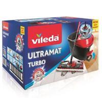 Vileda UltraMat Turbo Eimer Bodenwischer Easy Wring Komplettset NEU