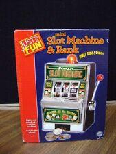Bars and Sevens Slot Machine Savings Money Bank (New) Free Shipping!