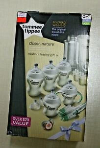 New in Box Tommee Tippee Newborn Feeding Gift Set 0m+