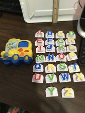 Leap Frog Fridge Phonics Magnetic Bus Complete Capital Letters Alphabet