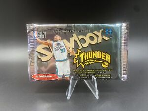1998-99 Skybox Thunder Sealed Hobby Pack - (Noyz Boyz, Boss, Super Rave Inserts)