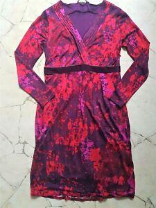 Traumhaftes Boden Kleid Herbst Impressionen Sommer Tunika Hippie Shirt dG 36 38