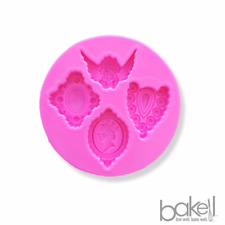 Angel Cameo Jewels Pendants Silicone Mold | Bakell®