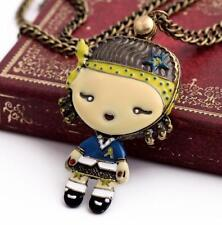 Fashion jewelry Betsey Johnson pendant Cute child can do mirror women necklaces