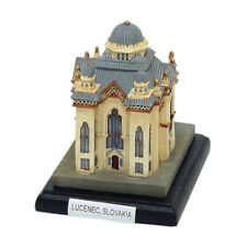 """Collector Miniature Resin Replica of Old Synagogue in Lucenec Slovakia 3.25"""" T"""