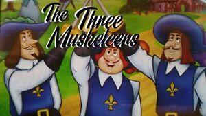 Three Musketeers DVD Cartoon Animated Movie Kids - REGION 4 AUSTRALIA