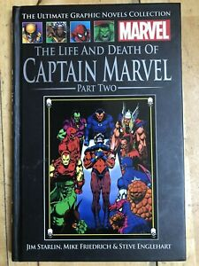 THE LIFE AND DEATH OF CAPTAIN MARVEL pt 2  H/B GRAPHIC NOVEL 2014