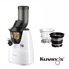 Kuvings Whole Slow Juicer B6000W Weiß  inkl. Eiscreme & Smoothies Set 60 U/min