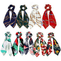 Attractive Ponytail Scarf Bow Elastic Hair Band Hair Rope Tie Ribbon Scrunchies