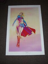 MICHAEL TURNER ASPEN DC  - SUPERGIRL LIMITED ART PRINT BY MICHAEL TURNER 13x19