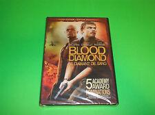 LEONARDO DICAPRIO BLOOD DIAMOND DVD 5 ACADEMY AWARD NOMINATIONS