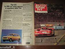 AUTOSPRINT 1971/23=FIAT 127=GETHIN INTERSERIE=VALLELUNGA=