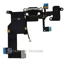 Dock Connector USB Charger Charging Port Black Replacement part for iPhone 5 5G