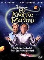 Disney - My Favorite Martian (DVD 1999) Christopher Lloyd w/ Insert VERY GOOD