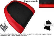 BLACK & BRIGHT RED CUSTOM FITS HONDA GOLDWING GL 1500 88-00 BACKREST COVER