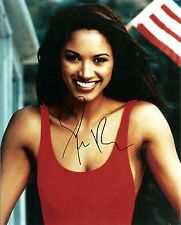 "Sexy Traci Bingham Signed 8"" x 10"" Color Photo from Baywatch w/ COA"