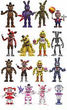 "Set Of 16 Five Nights At Freddy's 2"" MINI Figure Foxy,Bonnie,Nightmare,Sister"