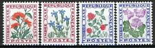 France 1965, Timbre-Taxe, Flowers set VF MNH, Mi 100-103
