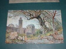 Israel Jerusalem Kirche Ölberg Kunst-AK ca. 20er Jahre
