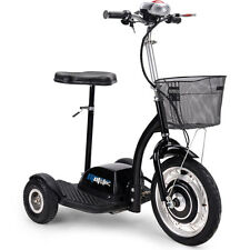 Electric Scooter MotoTec 350w hub motor Basket Transporter Battery MT-TRK-350 RV