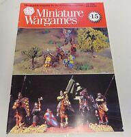 Miniature Wargames Number 15, 80's oop SC