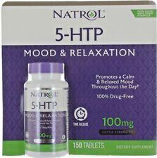 Natrol 5-HTP Mood Enhancer 150 Tablets 100 MG 12 Hour Time Release Formula