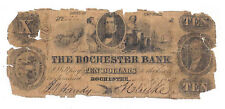 1853 The Rochester Bank, Rochester, NY - Ten Dollar Obsolete Note No.2522