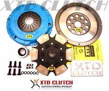 XTD STAGE 4 RACE CLUTCH & 9LBS FLYWHEEL KIT VW VR6 GTi 2.8L (SPRUNG)