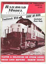 NOVEMBER 1963 RAILROAD MODEL CRAFTSMAN