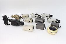 Lot of 12 Security Surveillance Cameras Color Ccd American Dynamics Pelco Sanyo