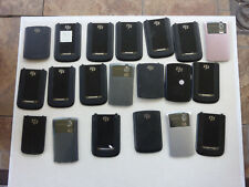 LOT OF 20  BATTERY DOOR BACK COVER ORIGINAL -FOR VARIOUS MODELS BLACKBERRY USED*