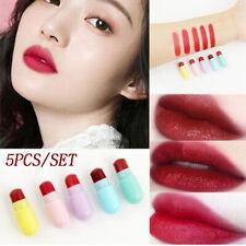 Capsule Small Lipstick Set Waterproof LipstickNon-Stick Cup