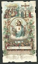 Holy card antique de Jesus andachtsbild santino image pieuse estampa
